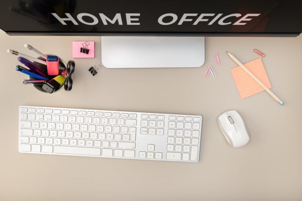 Produtividade no Home Office: Como organizar o seu espaço de trabalho
